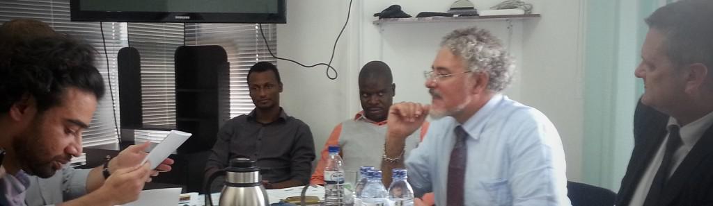 Dr Omer Khan visit