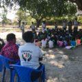 Actividades da comunidade durante o lançamento do Projecto EducaMoz